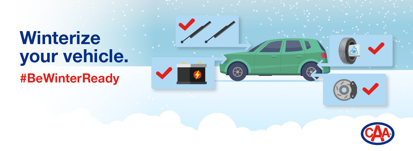 Winterize your vehicle.