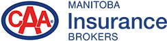 Logo of CAA Manitoba Insurance Brokers.