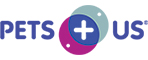Logo for Pets Plus Us.
