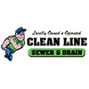 Cleanline Sewer & Drain logo.
