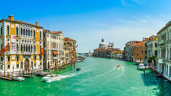 The Grand Canal, Venice.